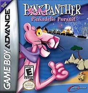 Pink Panther Pinkadelic Pursuit - Game Boy Advance Game