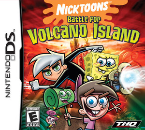 Nicktoons Battle For Volcano Island - Nintendo DS Game