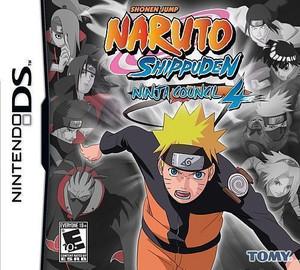 Naruto Shuppuden: Ninja Council 4 - Nintendo DS Game