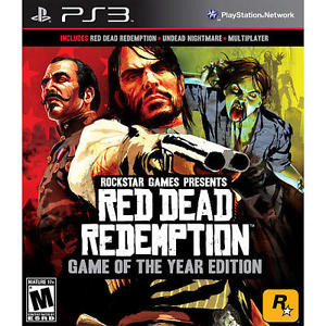 Red Dead Redemption Game of the Year Edition- PS3 Game