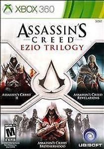 Assassins Creed Ezio Trilogy - Xbox 360 Game