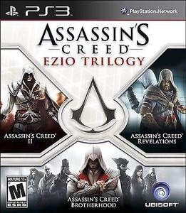 Assassins Creed Ezio Trilogy - PS3 Game