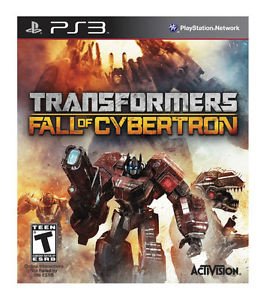 Transformers Fall of Cybertron - PS3 Game
