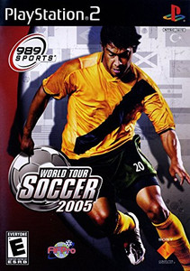 World Tour Soccer 2005 - PS2 Game