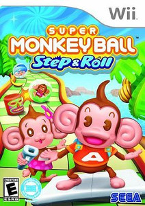 Super Monkey Ball Step & Roll - Wii Game