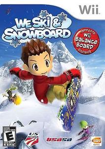 We Ski & Snowboard - Wii Game