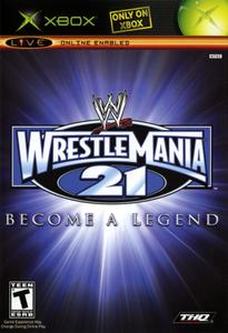 WWE Wrestlemania 21 - Xbox Game