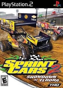 Sprint Cars 2: Showdown at Eldora - PS2 Game