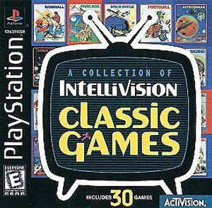 Classic Games From the Intellivision - PS1 Game