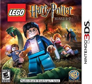 Lego Harry Potter Years 5-7 - 3DS Game