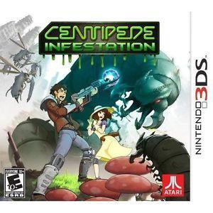 Centipede Infestation - 3DS Game