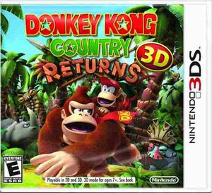 Donkey Kong Country Returns 3D - 3DS Game