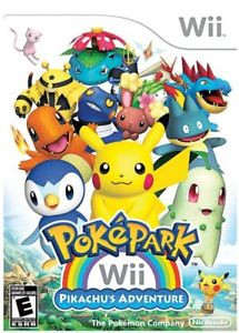 PokePark Wii: Pikachu's Adventure - Wii Game