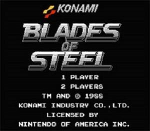 Complete Blades of Steel Hockey Konami Classic Series - NES