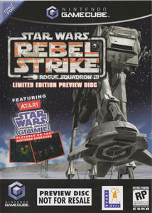 Star Wars Rebel Strike Rouge Squadron III Preview - Gamecube Game