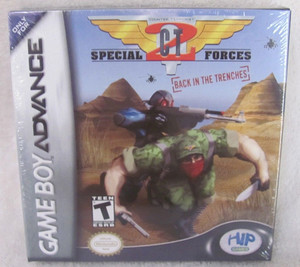 New Factory Sealed CT Special Forces: Back in the Trenches - Game Boy Advance Front