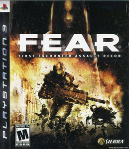 F.E.A.R. First Encounter Assault Recon - PS3 Game