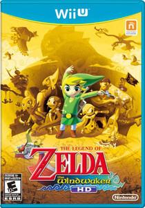 Legend Of Zelda The Wind Waker Wii U Game for sale.
