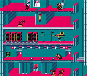 Impossible Mission II (2) - NES Game