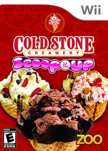 Cold Stone Creamery Scoop it Up - Wii Game