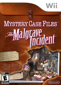 Mystery Case Files Malgrave Incident - Wii Game