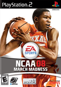 NCAA 08 March Madness - PS2 Game