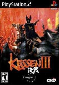 Kessen III - PS2 Game