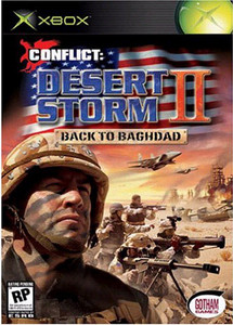 Conflict Desert Storm II Back to Baghdad - Xbox Game