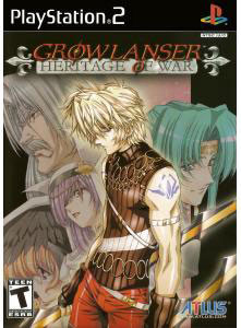 Growlanser Heritage Of War - PS2 Game