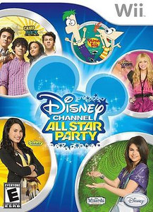 New Sealed Disney Channel All Star Party - Wii Game