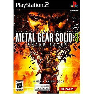 New Factory Sealed Metal Gear Solid 3 Snake Eater - PS2 Game