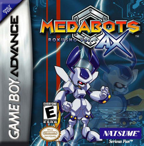 Medabots AX Rokusho Version - GBA Game