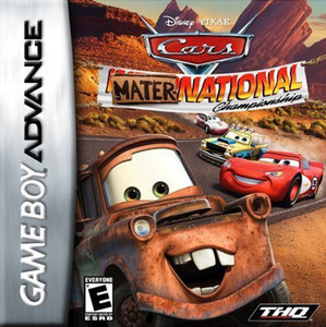 Disney Pixar Cars Maternational Championship - GBA Game