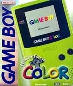 Complete Game Boy Color System Kiwi In Box