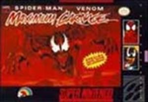 Spider-Man Venom Maximum Carnage - SNES Game