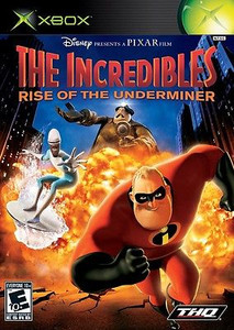 Incredibles Rise of the Underminder - Xbox Game