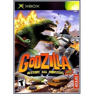 Godzilla Destroy All Monsters - Xbox Game