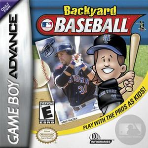 Backyard Baseball - Game Boy Advance Game