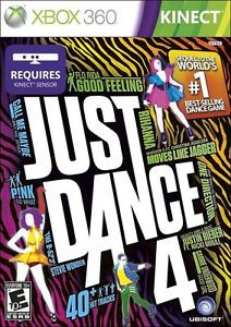 New Sealed Just Dance 4 - Xbox 360 Game