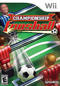 New Sealed Championship Foosball - Wii Game