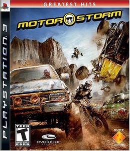 New Factory Sealed Motor Storm Greatest Hits - PS3 Game