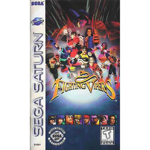 Complete Fighting Vipers - Saturn Game