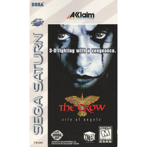 Crow City of Angels, The - Saturn Game