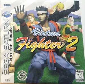 Virtua Fighter 2 - Saturn Game