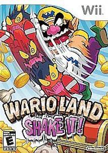 New Sealed Wario Land Shake It! - Wii Game