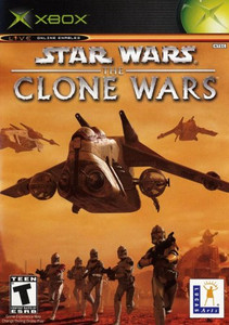 Star Wars The Clone Wars - Xbox Game