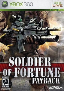 Soldier of Fortune Payback - Xbox 360 Game