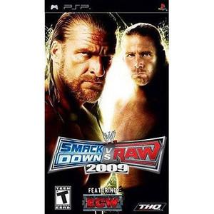 Smackdown vs Raw 2009 - PSP Game