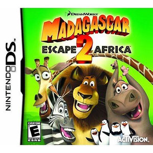 Madagascar 2: Escape 2 Africa - DS Game