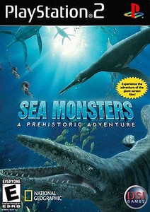 Sea Monsters Prehistoric Adventure - PS2 Game